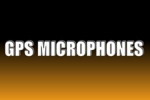 GPS Microphones