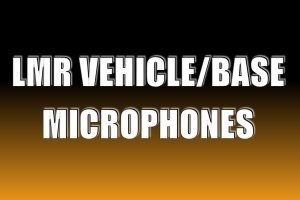 LMR Vehicle / Base Microphones