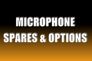 Microphone Spares & Options