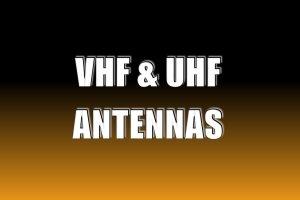 VHF & UHF Antennas